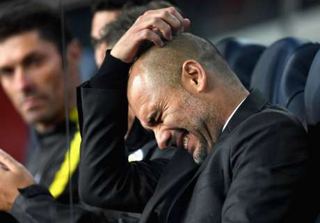 Pep Guardiola y sus derrotas más duras