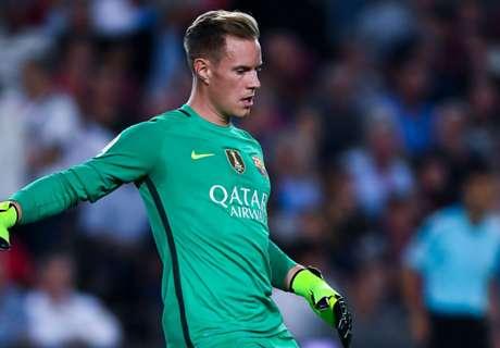 Barca: Ter Stegen nicht im Mittelfeld