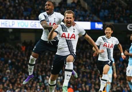 Spurs düpieren City, Arsenal feiert