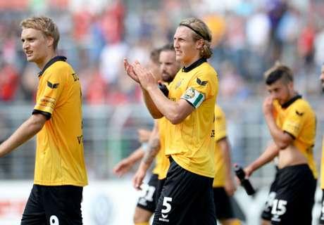 3.Liga: Dresden festigt Tabellenführung