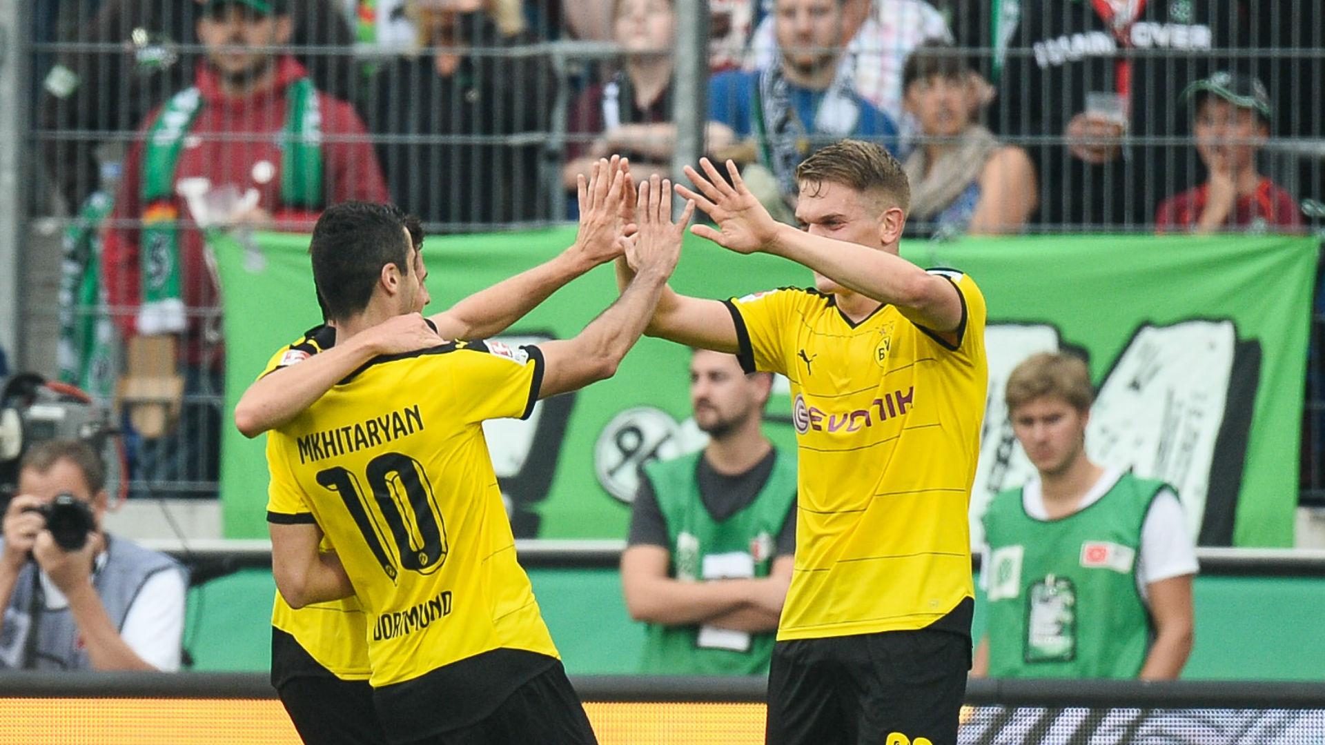 Borussia Dortmund vs Krasnodar