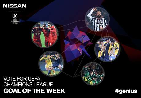 ¡Vota por el gol en la UCL!
