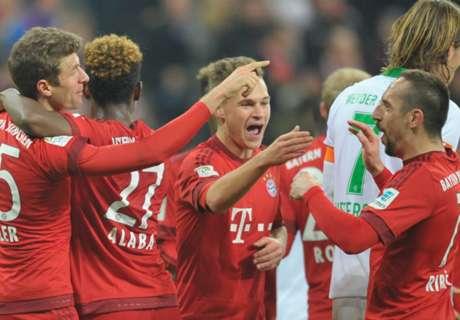 Otra goleada de Bayern que se escapa