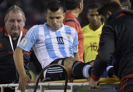Los lesionados de la fecha FIFA