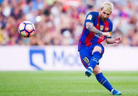 Los goles de Messi en la 2016/17
