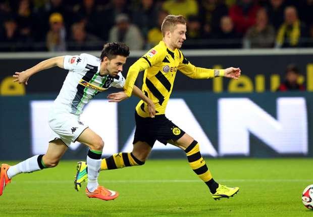 Borussia Dortmund 1-0 Borussia Monchengladbach: Kramer clanger gifts BVB morale-boosting win