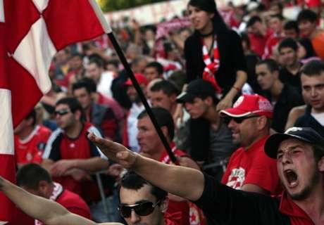 Sofia-Fans jagen Team vom Rasen