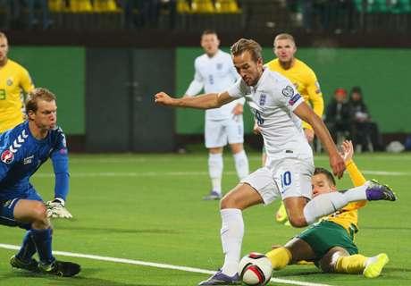 Eliminatorias: Lituania 0-3 Inglaterra