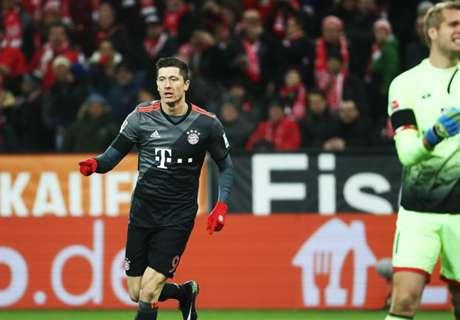 Bayern, Mainz'ı ilk yarıda bitirdi