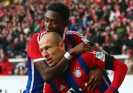 Robben destacó al Bayern