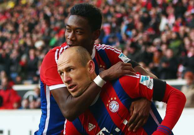 Stuttgart 0-2 Bayern Munich: Robben and Alaba secure first win of 2015