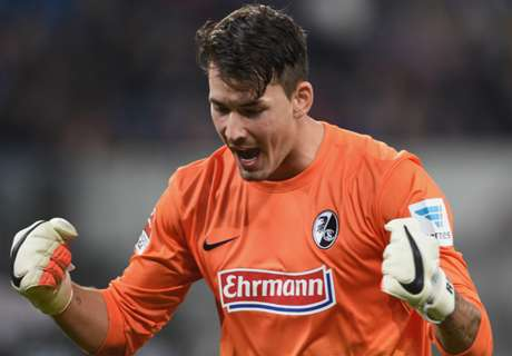 Dortmund sign Freiburg keeper Burki