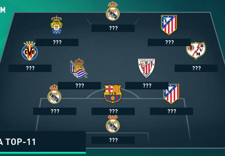 LaLiga Top-11 vom 31. Spieltag