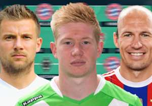 In unserem Team des Jahres der Bundesliga stehen drei Deutsche Meister, zwei Wolfsburger und zwei Gladbacher. Ansonsten ist jeder Verein maximal einmal vertreten.