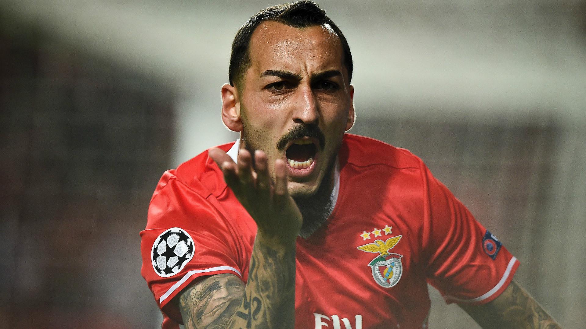 Kostas Mitroglou Benfica Champions League 14022017