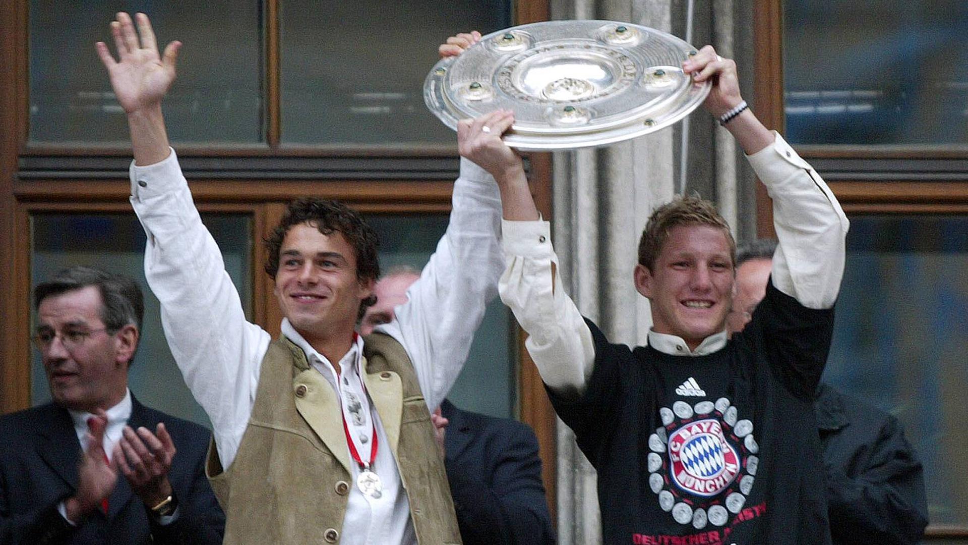 Only germany bastian schweinsteiger bundesliga 05232003 - Germany bundesliga league table ...