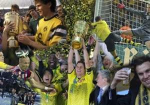 Borussia Dortmund stand bereits sechs Mal im Finale des DFB-Pokals, drei Mal konnten sich die Borussen den Pott auch sichern. Goal blickt auf die vergangenen Duelle.