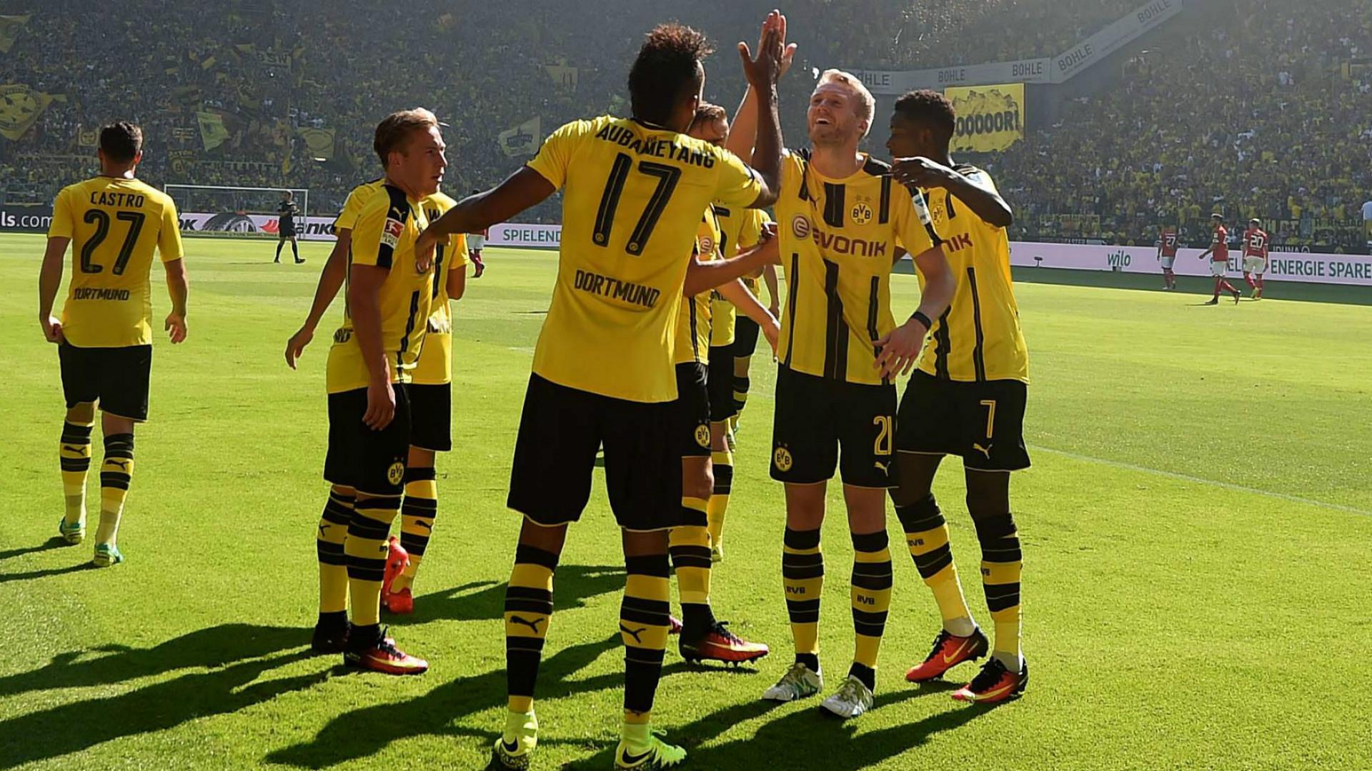 Borussia dortmund players german bundesliga 27082016 - Germany bundesliga league table ...
