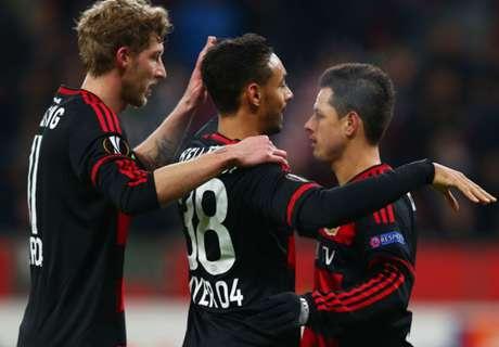 Leverkusen se metió en octavos