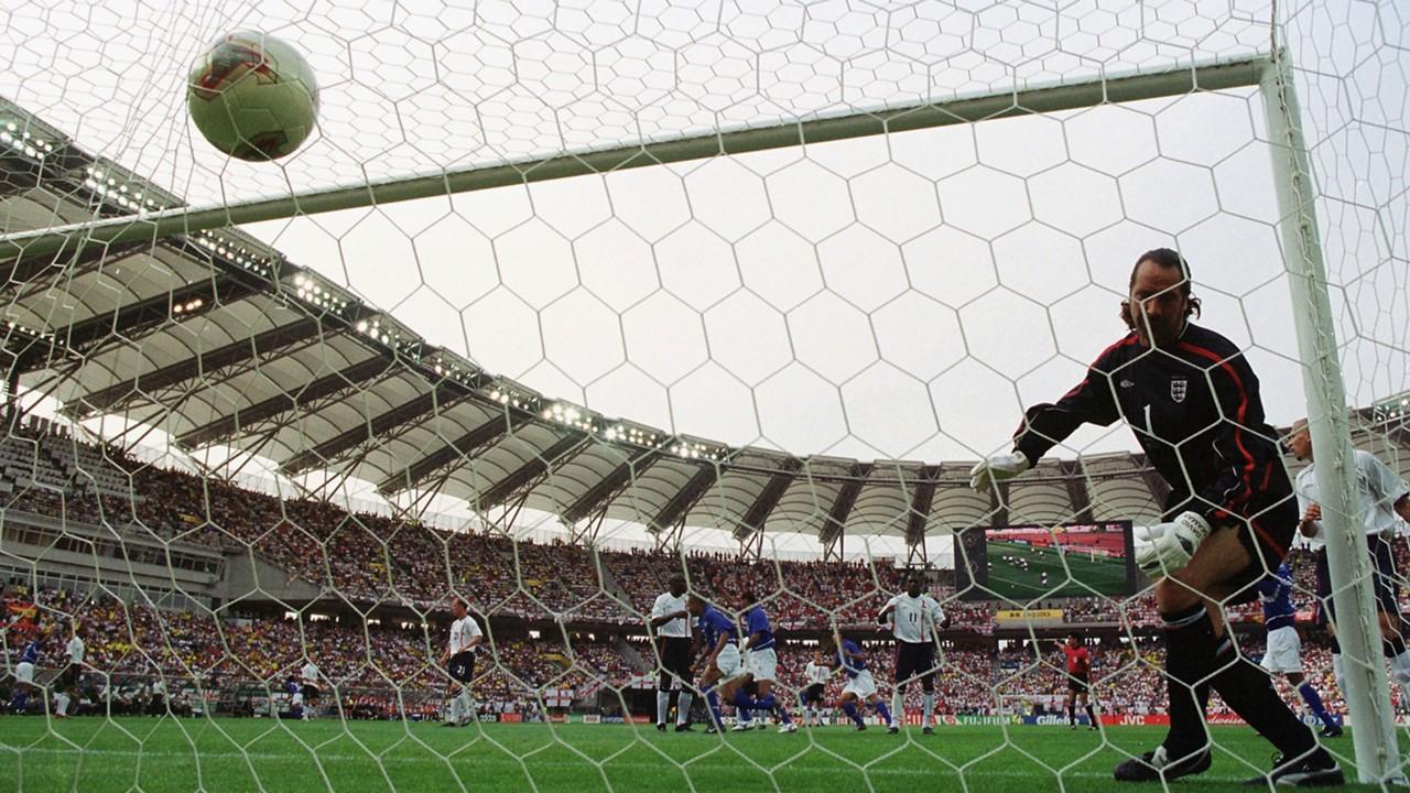 David Seaman England Brasilien 2002