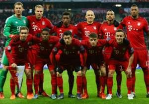 Nachdem Leverkusens Mission im eiskalten Weißrussland fehlgeschlagen war, schickte sich der FC Bayern an, die deutsche Fahne hochzuhalten. Und das gelang den Münchnern problemlos. Die Bilder zum Champions-League-Dienstag.