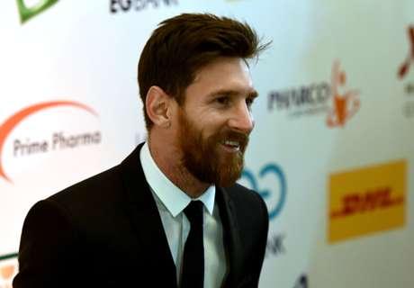 Lionel Messi zu Gast in Ägypten