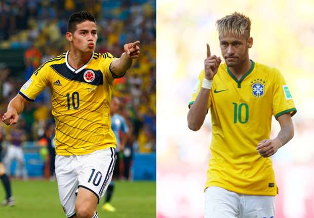 Neymar: Brazil's showdown against Colombia is not about James and me