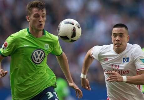 HSV dirigeert Wolfsburg naar play-offs
