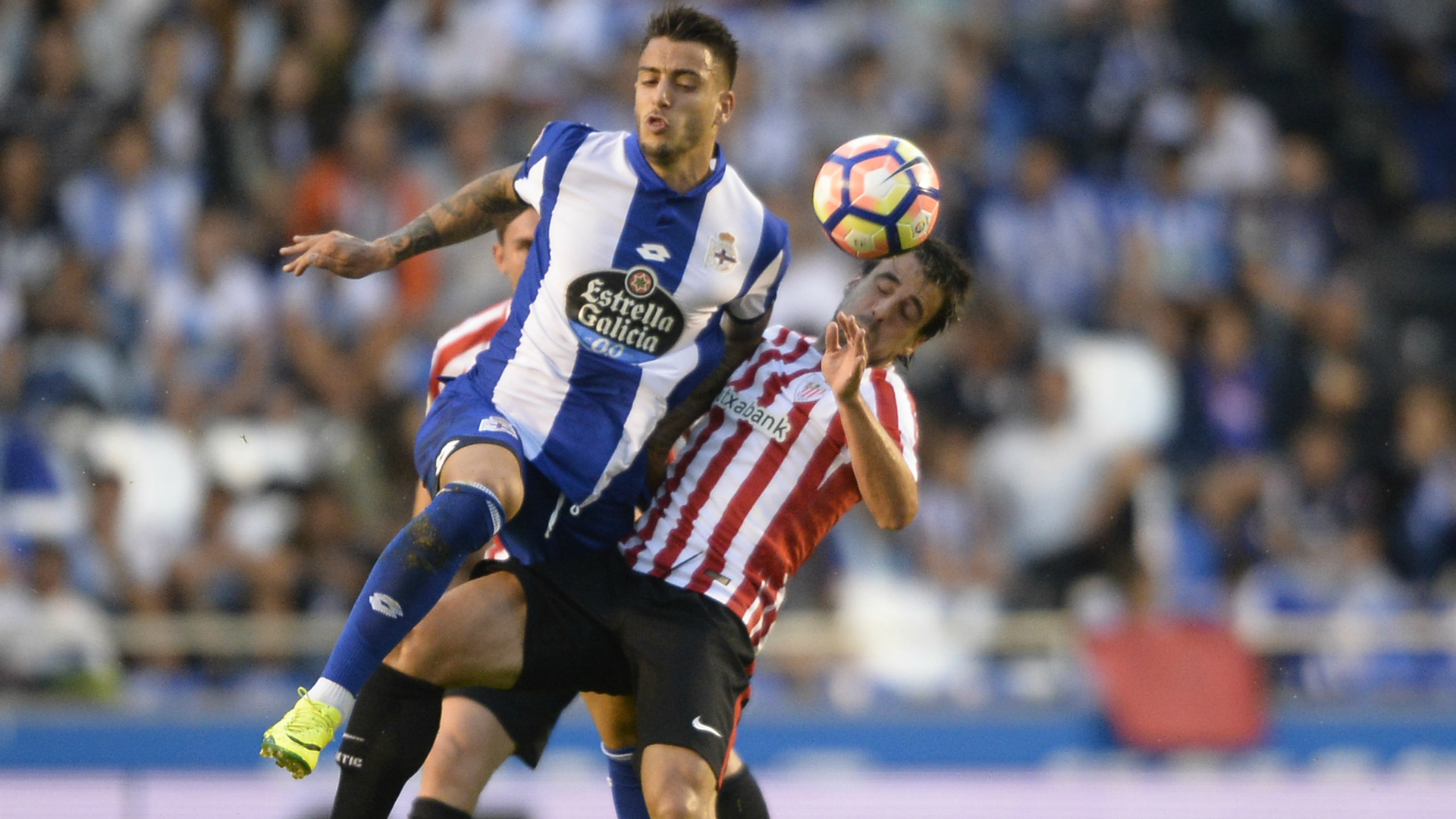 Joselu Beñat Deportivo Athletic Club La Liga 11092016