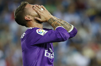 What is wrong with Sergio Ramos?