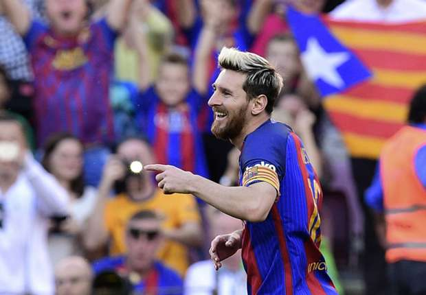 Messi back with a bang as Barcelona show City and Pep: 'We're ready for you'