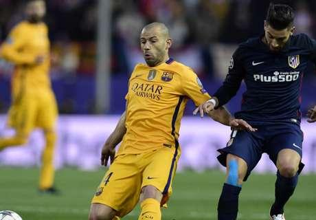 Does Mascherano deserve Barca start?