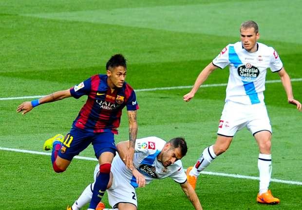 Barcelone 2-2 La Corogne