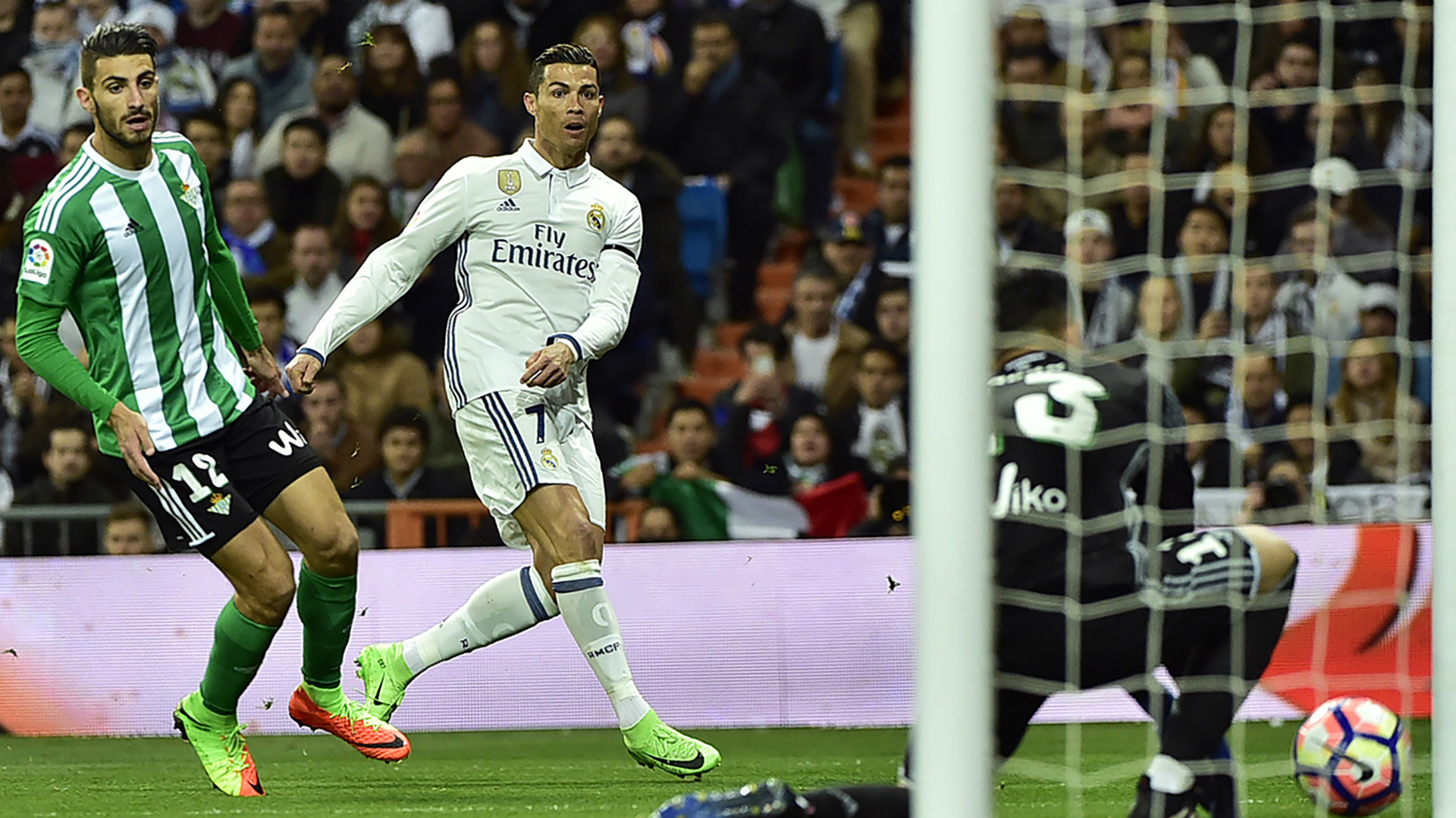Cristiano Ronaldo Piccini Real Madrid Betis LaLiga