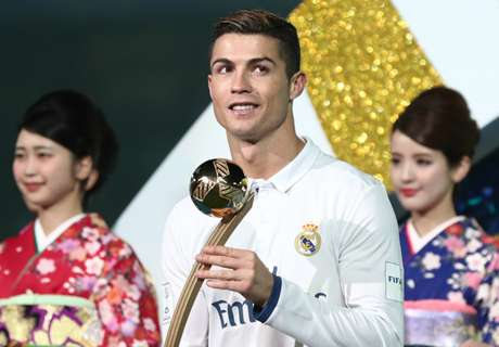 CR7 sets record with 2016 trophy haul