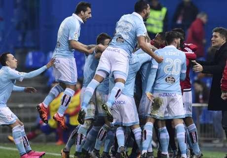 Atlético-Celta 2-3, résumé du match