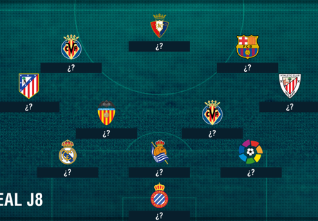 Tim Terbaik La Liga Jornada 8