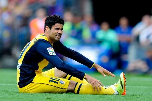 Chelsea ofrecería 135 millones por Diego Costa, Filipe Luis y Godín