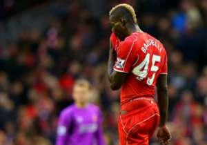 Un numéro 45 surprenant pour Balotelli à Liverpool qu'il a également porté à l'Inter et à City.