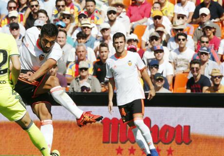 Garay, muy feliz en el Valencia