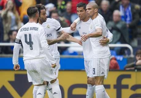Real Madrid ganó pero no sirvió