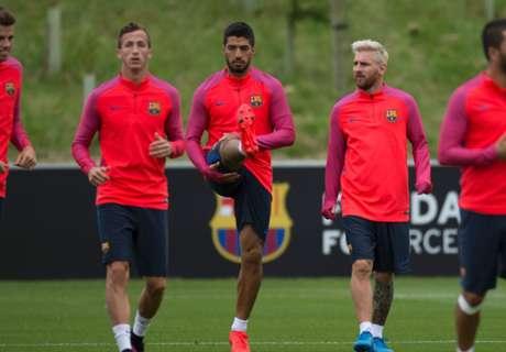 Latihan Santai Barcelona Di Inggris