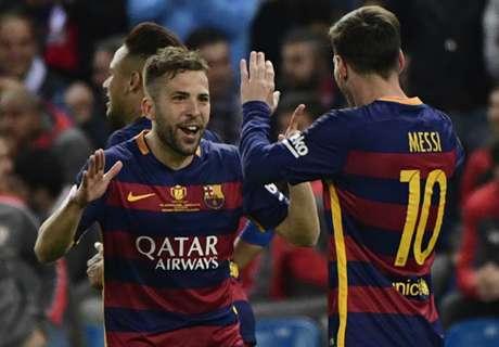 Barcelona holt sich das Double