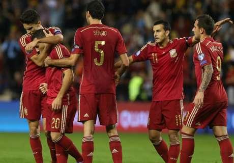 Spanyol Lolos Ke Putaran Final
