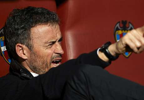 Luis Enrique: My voice needed a rest