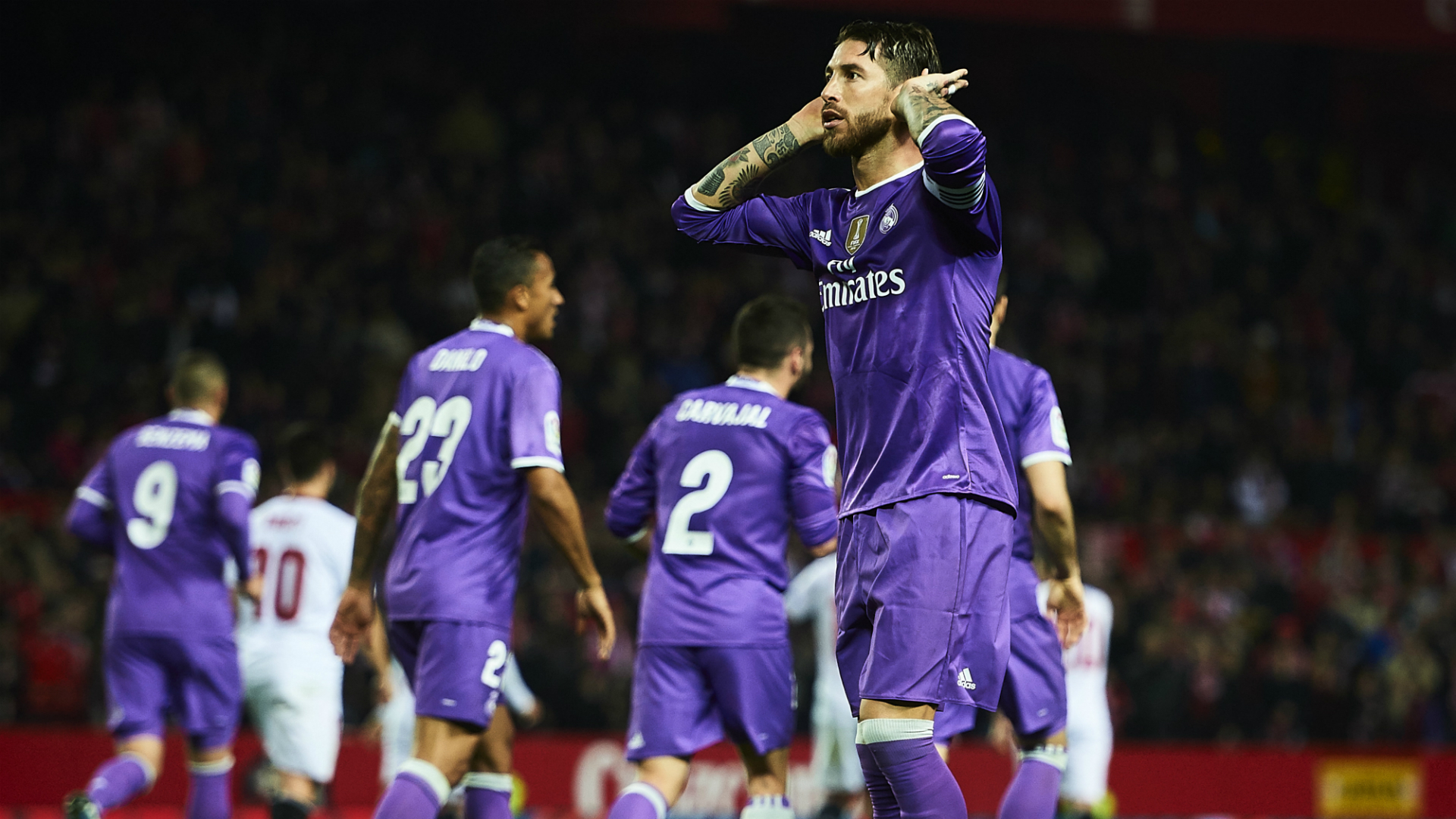 Sergio Ramos replies angry Sevilla fans in post match press conference