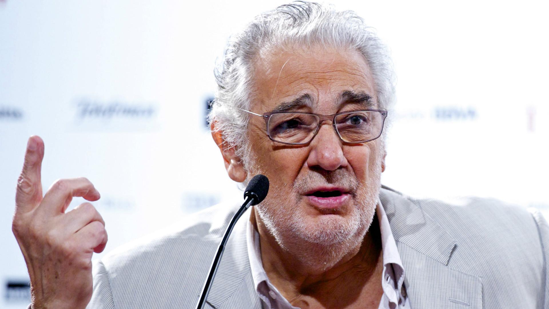 Placido Domingo Press Conference