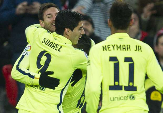 Athletic 2-5 Barcelona: Catalans' attackers seal confident win