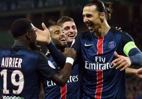 Ligue 1: Saint-Étienne 0-2 PSG