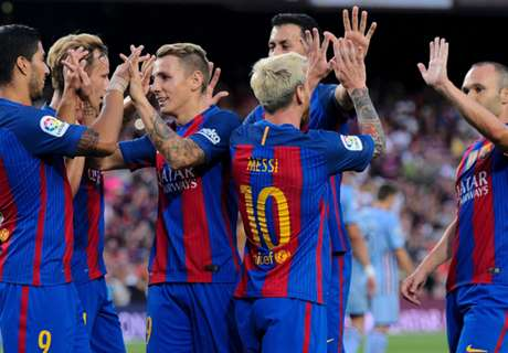 ANALISIS La Liga 16/17: Barcelona